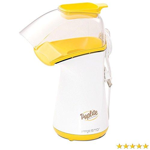 Presto 04820 PopLite Hot Air Popper Healthy Popcorn Home Mak