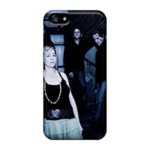 Shockproof Cell-phone Hard Cover For Iphone 5/5s (Plr8537acvi) Unique Design High-definition Lullacry Band Image