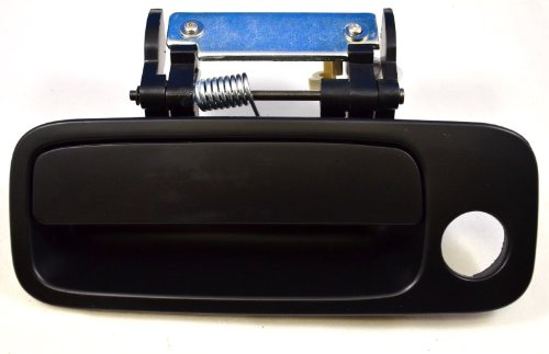 PT Auto Warehouse TO-3901P-FL Driver Side Front Outside Exterior Outer Door Handle Primed Black