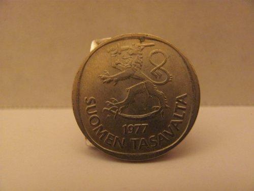 1977 Finland Markka Coin