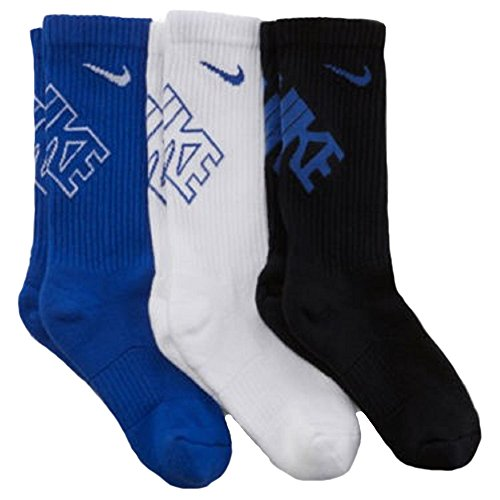 New Nike 3 Pack Boys' Graphic Crew #sx4715-942