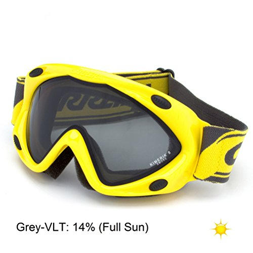 Carrera Kimerik S Kids Goggles - Yellow-Grey/Full - Carrera Kids For