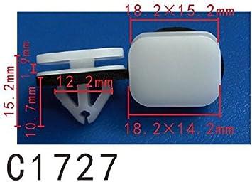 Ford Voiture Corps Interior Trim Panel Côté Jupe /& porte capot supérieur clips