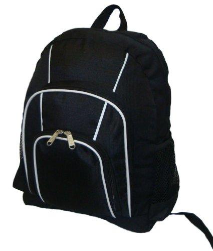 Kids Backpack Elementary School Student Bookbag Children Daypack, (Black Elementary School)