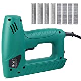 FIXKIT Electric Staple/Brad Nail Gun Hand Tacker Flooring Framing Nailers Kit