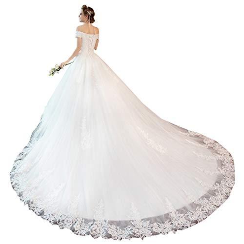 Robe Femmes Ruban couleur Mince 002 Xl Home Des Était Mariée 002 Épaule Ailin Réglable De Une Grande Simple Taille Princesse rFqwCr