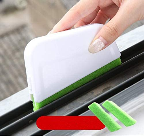 1Pc Hand Held Groove Cleaning Tools Door Window Track Kitchen Brushes Cleaner Brush Home Clean Ly 7
