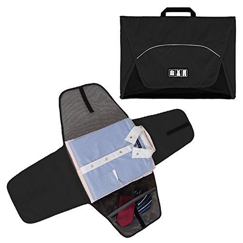 Buy cheap bagsmart garment bag anti wrinkle travel packing folder and luggage accessory black