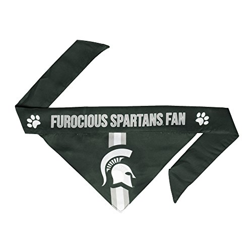- NCAA Michigan State Spartans Pet Bandanna, Large