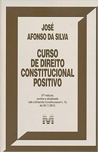 Book Curso De Direito Constitucional Positivo