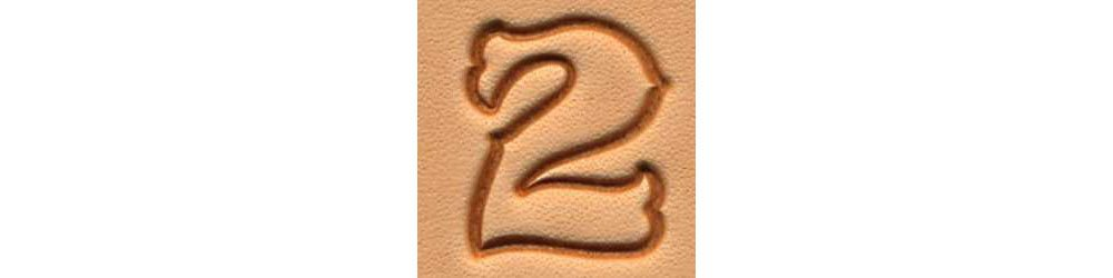 Tandy Leather Craftool� 3/4'' (19 mm) Standard Number Set 8135-00 by Tandy Leather