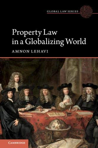 Pdf Law Property Law in a Globalizing World (Global Law Series)