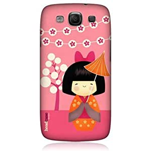 Quaroth - Head Case Kimi Japanese Doll Design Protective Back Case Cover for Samsung Galaxy S3 III I9300