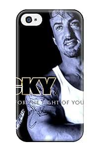 Unique Design Iphone 4/4s Durable Tpu Case Cover Sylvester Stallone 8449466K49800633