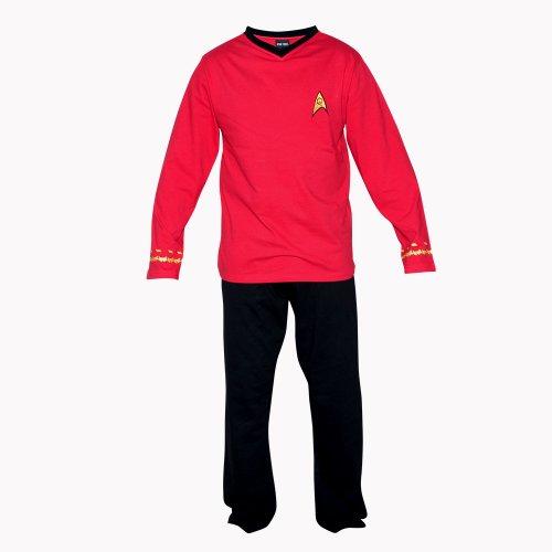 Starfleet Uniforms Costumes (Star Trek Adult Scotty Officer Uniform Pajama Set (X-Large))