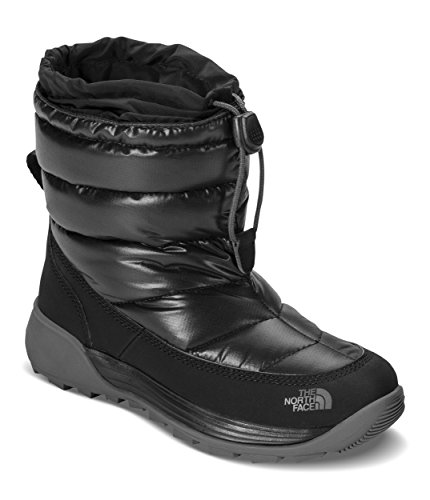 The North Face Kids ThermoBall Freestyle Winter Boots TNF Black/Dark Gull Grey 5