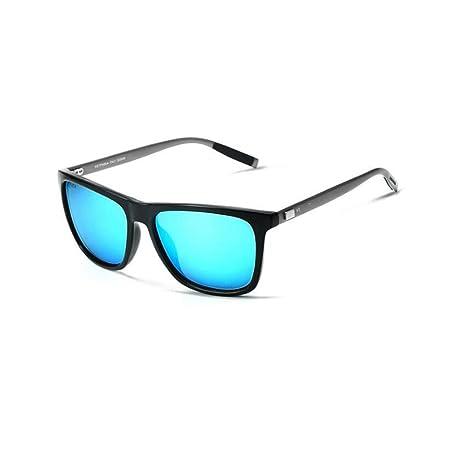 Defect Hombres y Mujeres General Gafas de Sol de Aluminio y magnesio híbrido Cuadrado Colorida Moda