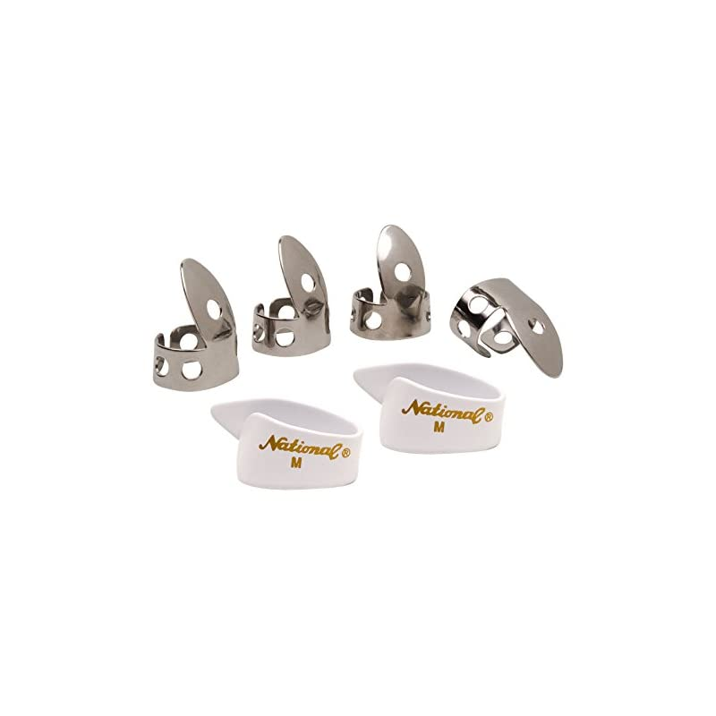 National NP1-7W Thumb & Finger Pick Pack