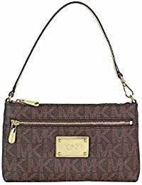 michael kors jewelry outlet online 8g2w  Michael Kors Jet Set Large Wristlet in Brown