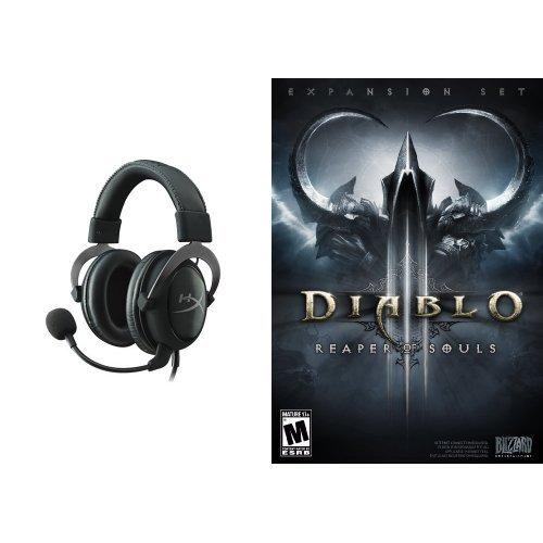 Diablo III: Reaper of Souls - PC/Mac [Digital Code] and Headset Bundle (Diablo 3 And Reaper Of Souls Bundle)