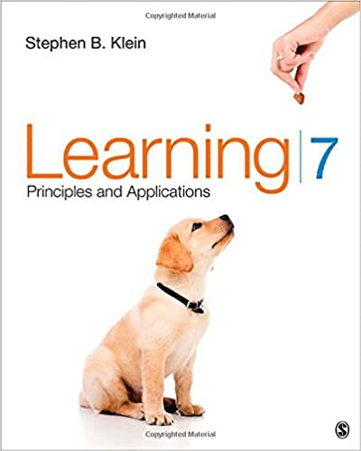 Learning: Principles and Applications: Stephen B. Klein ...