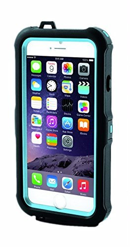 iHome | Waterproof iPhone 6 ARMO Case - Blue - Heavy Duty Shock Resistant Lightweight (See More Colors) - Case Waterproof Canon Weight