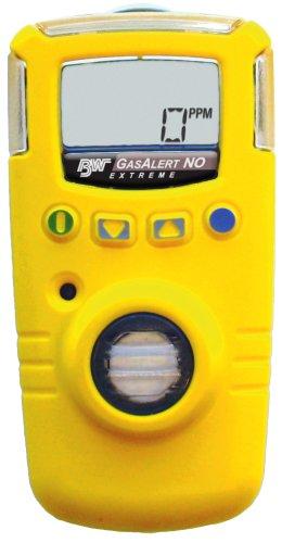BW Technologies GAXT-N-DL GasAlert Extreme Nitric Oxide (NO) Single Gas Detector, 0-250 ppm Measuring Range, - Nitric Oxide Sensor