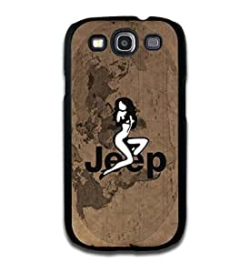 Tomhousomick Case Cover for Samsung Galaxy S3 Fashionable Jeep Wrangler Logo Cool Car by ruishername