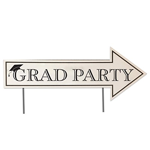 VictoryStore Graduation Party Directional Signs with 2 Stakes per Sign - 23
