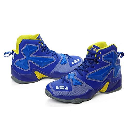 Basket Leggeri Casual Scarpe Allenatori High Lace Blue Traspirante Atletici Stivali top Sneakers Up Ginnastica Uomo Da vg6nnaqt