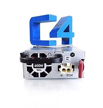 Amazon com: HP 681926-401 - 600W hot plug 48V DC powersupply
