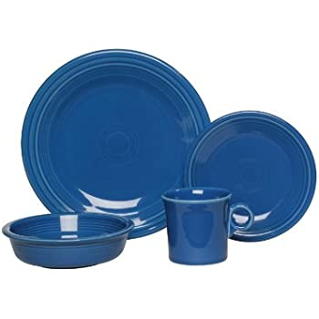 Fiesta 4-Piece Place Setting, Lapis