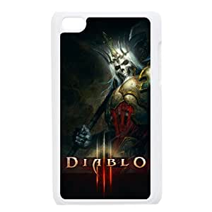 Diablo For Ipod Touch 4th Csae protection phone Case ER15536
