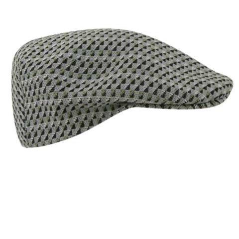 Kangol Little Boys' Boat Check 504 Hat, Metal, Large ()