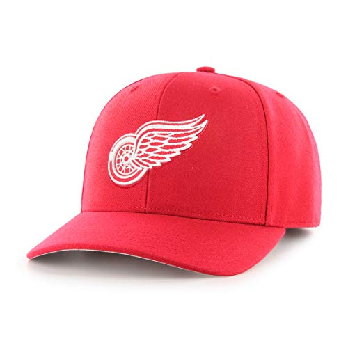 OTS NHL Detroit Wings Male All-Star Dp Adjustable Hat, Red, One Size