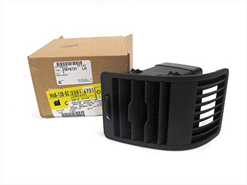 OEM NEW Outer Dash Air Vent Grille Left Driver 06-10 Hummer H3 H3T - 25816721 (Hummer Grille compare prices)