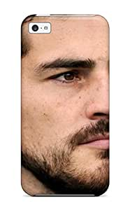 Fashion Tpu Case For Iphone 5c- Iker Casillas02 Defender Case Cover 6674881K42867642