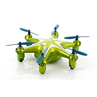 UDI U846 2.4Ghz 4 Channel 6 AXIS RC Headless Tiny Mini UFO - Green Color