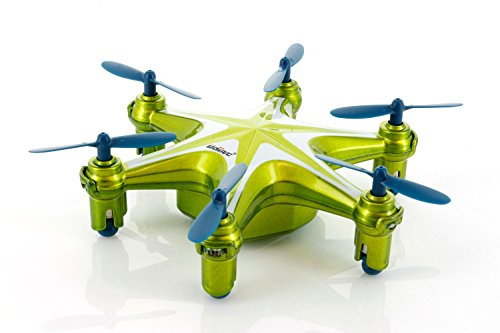 UDI U846 2.4Ghz 4 Channel 6 AXIS RC Headless Tiny Mini UFO – Green color
