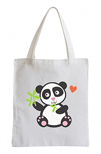 Borsa In Juta Dolce Panda Dolce Raxxpurl
