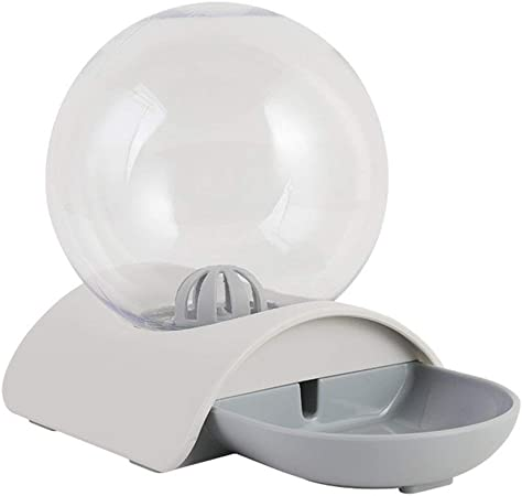 Queenaal Ball Bubble Bebedero para Mascotas Bebedero automático para Gatos Bebedero para Perros Bebedero para Gatos (Gris): Amazon.es: Hogar