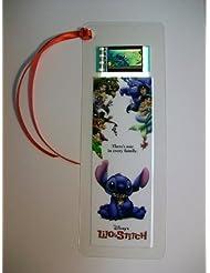 LILO & STITCH movie film cell bookmark Memorabilia Collectible Complements Poster Book Theater