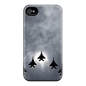 Premium Tpu Jet Formation Cover Skin For Iphone 4/4s