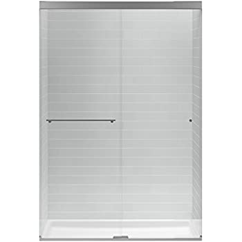 KOHLER K707101LSHP Revel Sliding Shower Door with 516 Thick