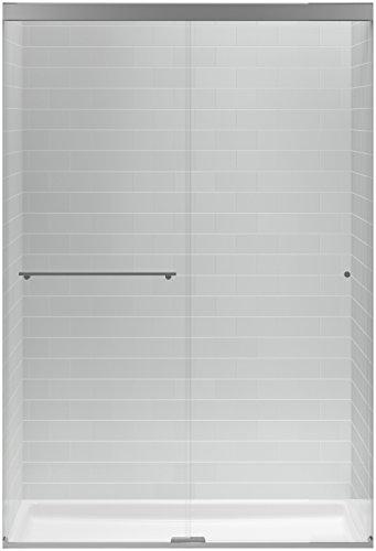 KOHLER K-707101-L-SHP Revel Sliding Shower Door with 5/16