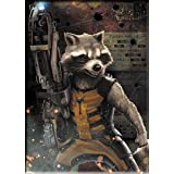 Magnet Guardians of The Galaxy Movie Rocket Fight