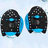 Swim Paddles - Swimming Power Paddles for Training Aid with Adjustable Strap for Men and Women