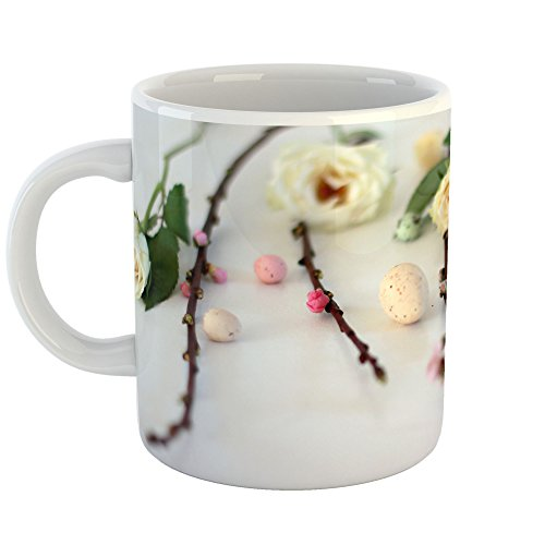 Westlake Art - Flower Rose - 11oz Coffee Cup Mug - Modern Pi