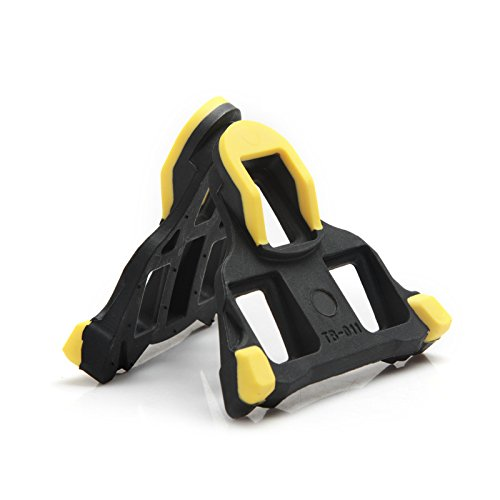 Anti Slip Cycling Tiebao Bike Grip Cleats Compatible Indoor Outdoor Cycling /& Road Bike Bicycle Shoes Pedals 3 Holes Cleat Kits