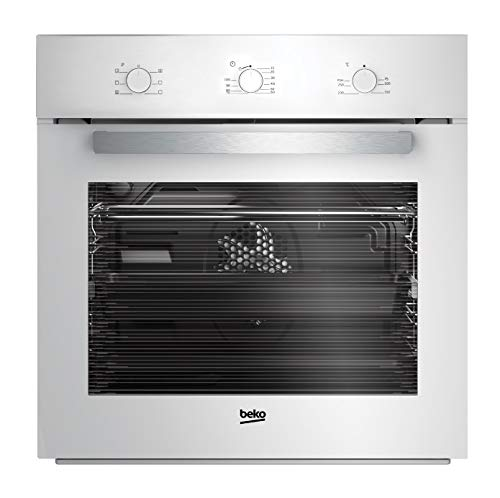 White Built-in oven 65L with 6 programs BEKO by Beko